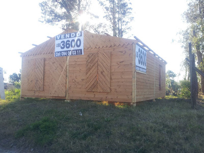 Cabañas Economicas 3600 Empalme Olmos. Alquiler.terrenos.