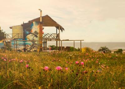 Cabaña Frente Al Mar Marzo Y Abril Promocional