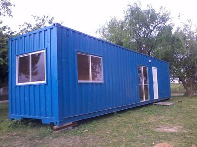 Container - Contenedor - Modulo Habitacional Casa Container