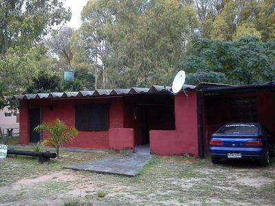 Casa En Balneario Blancarena, 3 Dormitorios C/ Estufa Leña