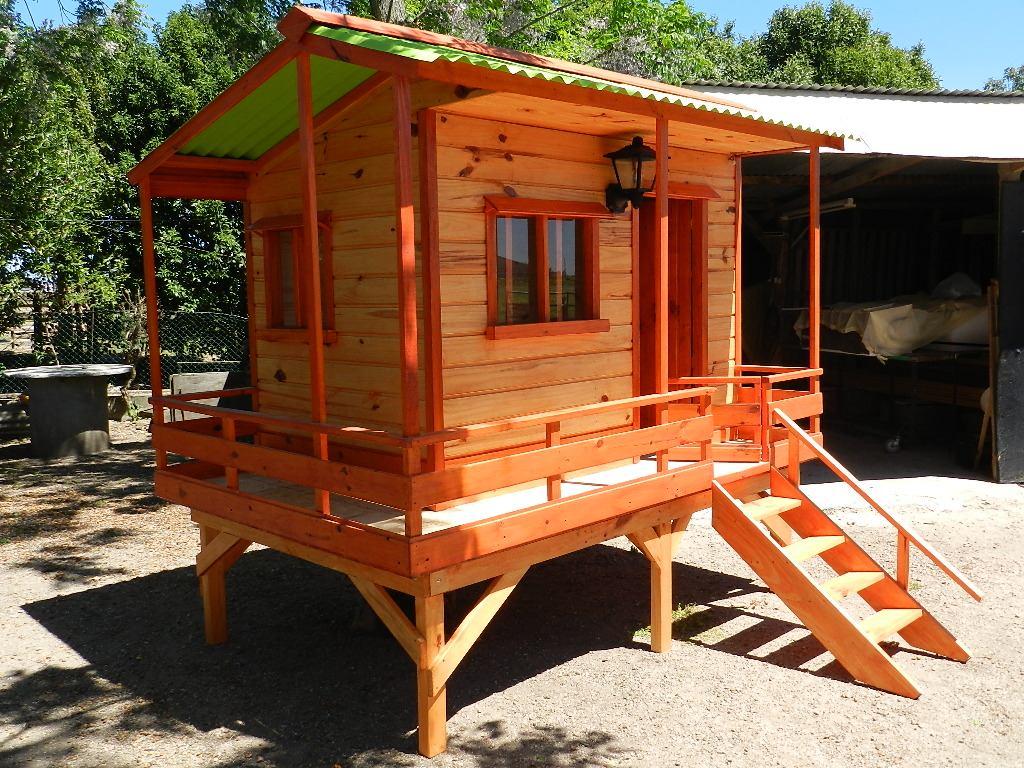 Casitas de madera para nios segunda mano cool casita de - Casitas de jardin para ninos de segunda mano ...