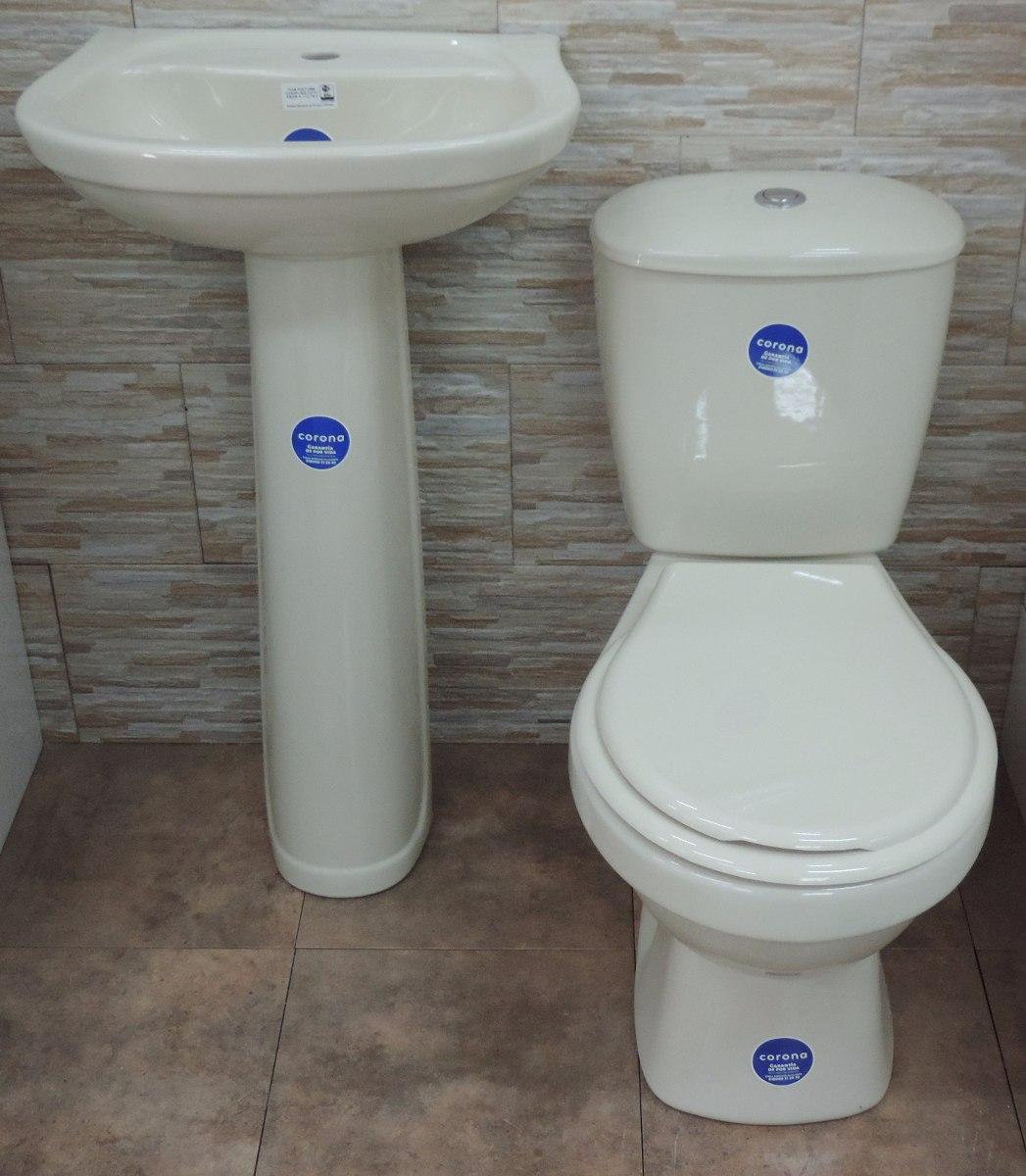 Muebles De Baño Water:Juego De Baño Loza Sanitaria Beige Water Inodoro Mochila – U$S 189,00