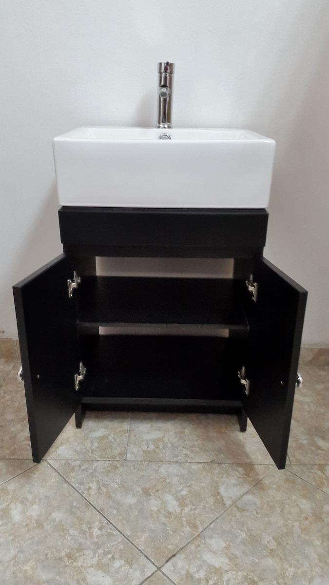 Muebles Para Baño Uy:Mueble De Baño Negro Lineas Cuadradas – $ 6500,00 en Mercado Libre