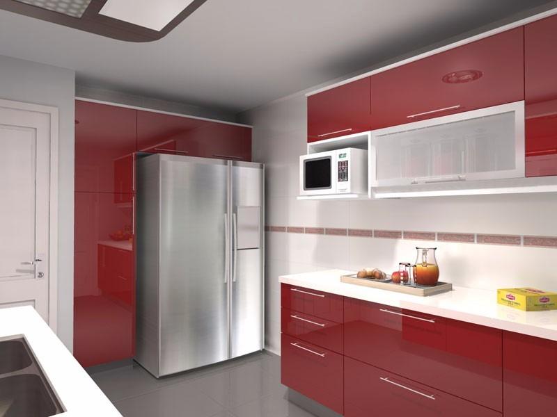 Muebles de cocina con mesada de silestone for Mesadas de marmol para cocina