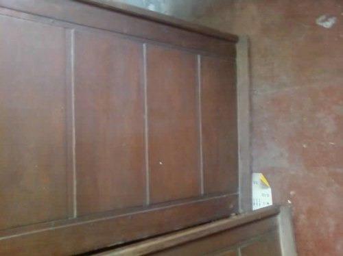 Pin porton puertas garage portones madera genuardis portal for Puertas para garage