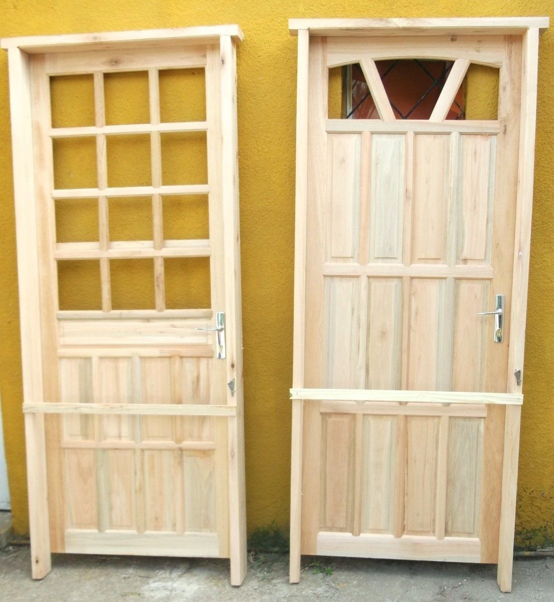 Puertas de exterior en madera nuevas modernas puertas de - Puertas de madera exterior ...